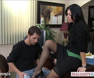 Stockinged India Summer..