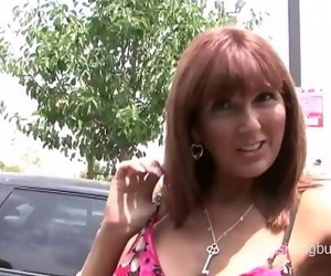 Horny mom picked up at the..