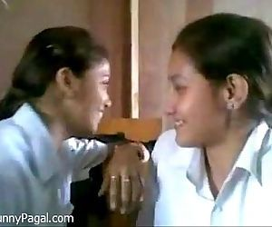 Two Indian School Girl..